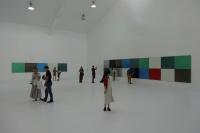 颜磊、何迟个展同开 在唐人艺术中心观色彩,颜磊,何迟