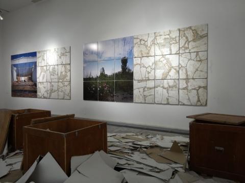 诸多元素共同构成了对废墟的重现