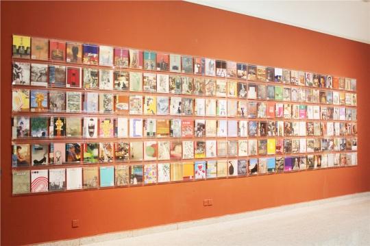 《美术文献》创刊至今20年来的杂志封面及封底,时间承载的正是他们记录的。