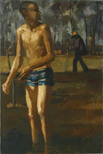 《场之二》 布上油画  91x61cm 1999