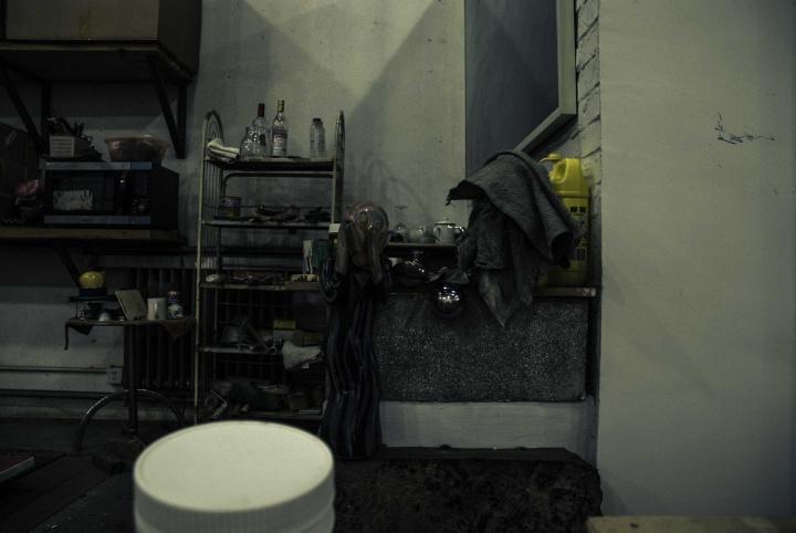 王光乐画室 摄影:韩五洲