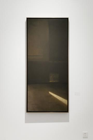 《无题》 布面丙烯 160x70cm 2000