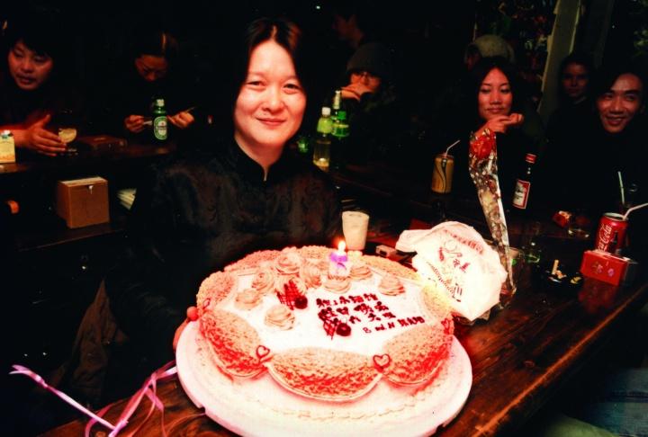 唐姐和小酒馆六周年的生日蛋糕
