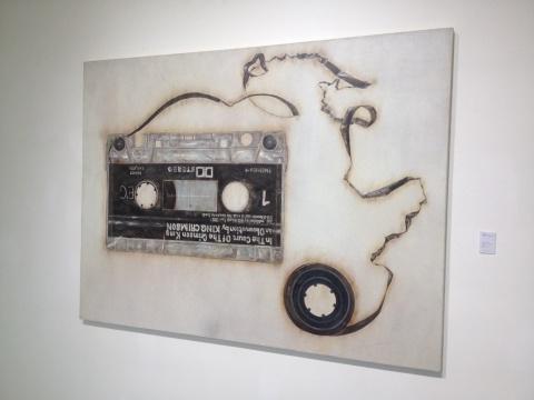 《绯红之王的法院》 150×200cm 布面油画 2009