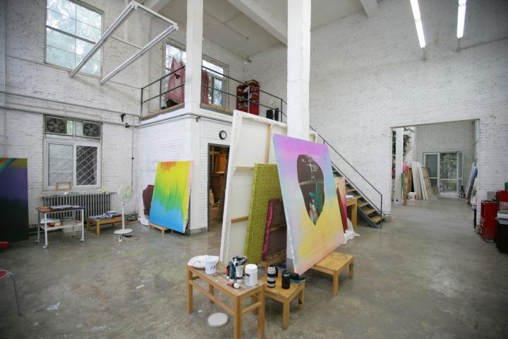 2008年时陈可的工作室