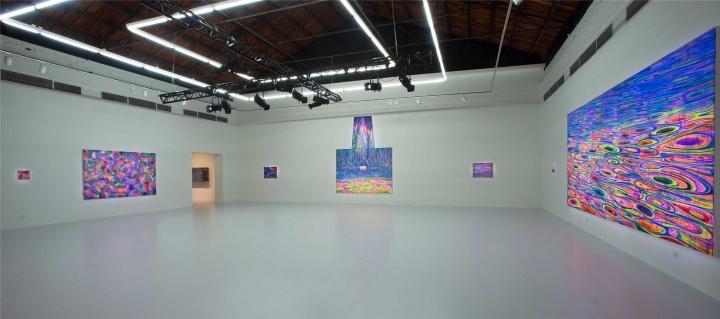 在天线画廊展出的黄宇兴个展现场