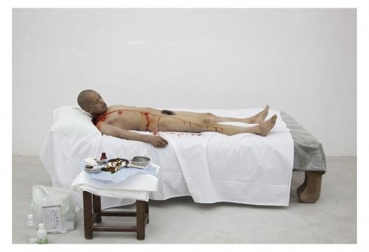 何云昌《一米民主》行为表演影像 2010