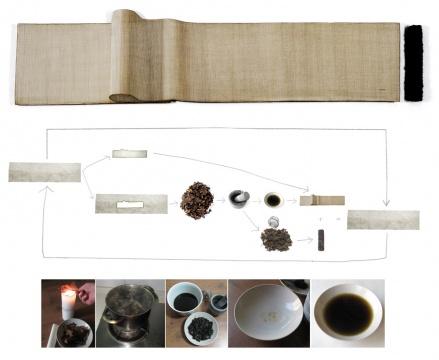 《丝绢·剩余价值》结构图示 姜吉安
