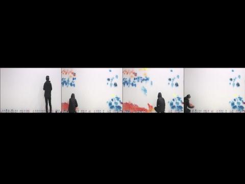 裴丽《寂寞小姐》行为影像 2012