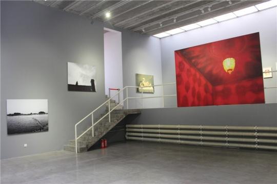"""二层展厅,有关""""孤独与苦闷"""""""