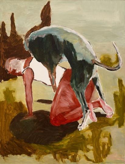 赵刚 《无题》 127x97cm 画布油画 2006