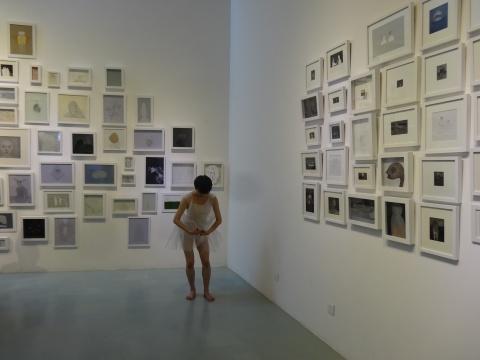 """""""当我们说艺术家的时候我们在说什么——罗苇个展"""" 展览现场"""