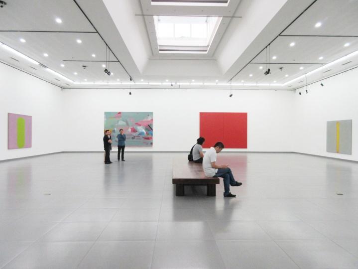 """""""中国抽象艺术案例展"""" 第一单元 展览现场"""