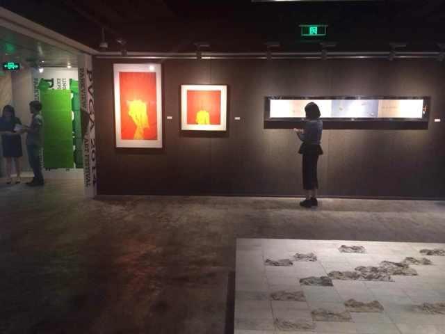 """""""小逻辑 ——当代艺术的语言编码与话语表述"""" 展览现场"""