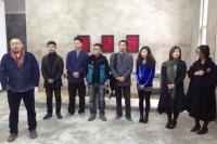 """第一风景艺术空间开幕 在3画廊化身""""交易大厅"""",伍伟,杭春晖,于艾君,于艾君,棉 布,刘瑾"""