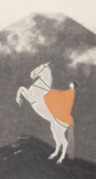 黄丹作品《入云》,成交价51.75万