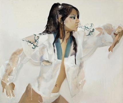 宋琨作品《圣战士》 ,成交价18.4万