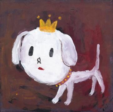 奈良美智《犬儿》,成交价46万