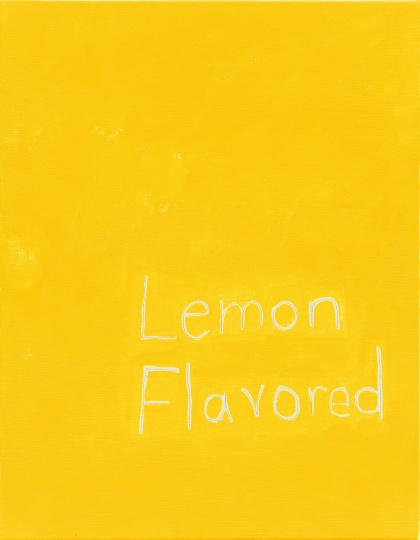 《Lemon Flavored#7191-2 NO.6》35.6 x 27.9 cm 布面丙烯 2014