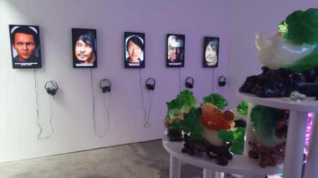 """""""2014釜山双年展亚洲特展:观海中"""" 展览现场"""