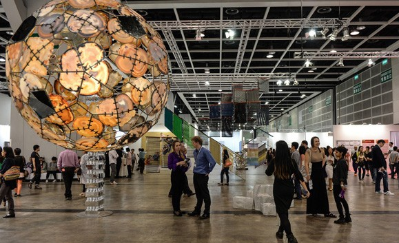 香港巴塞尔艺术博览会-光映现场