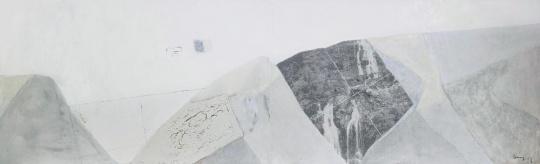 尚扬《董其昌计划—5(两联作)》再次创下了艺术家抽象作品系列的拍卖纪录