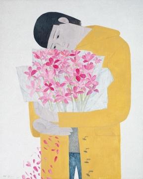 一如李苏桥在拍前所言,他在韦嘉的这件作品的喜爱之情。最终在无太多竞争对手的情况下成功拍下了他的心之所属