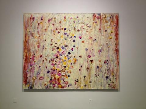《陨落之四》 200x250cm布面丙烯2010