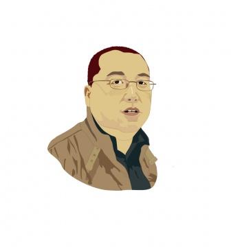 油画市场专家、画廊协会副会长林松