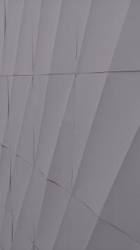 纸折叠后平面感强的装置局部
