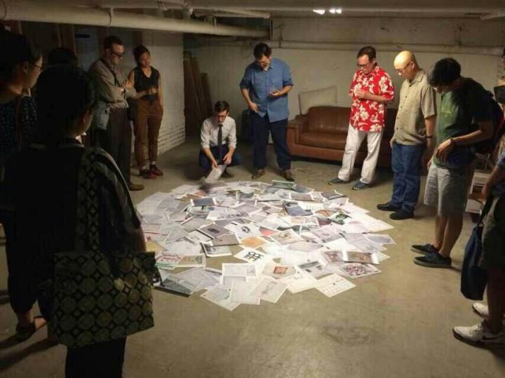 美国纽约美术学院艺术家驻留计划–北京2011,来自美国的年青艺术家在央美提供的工作室进行创作