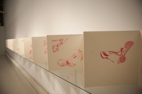 《锦绣集》(局部) 纸本水墨 38x912cm 2012