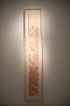 《灯泡》 纸本水墨 234x26.5cm 2008