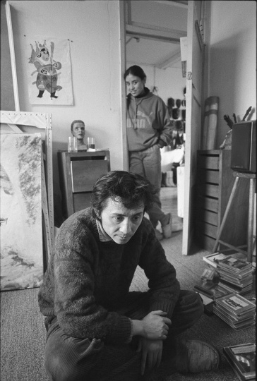 何多苓,1993年2月,成都