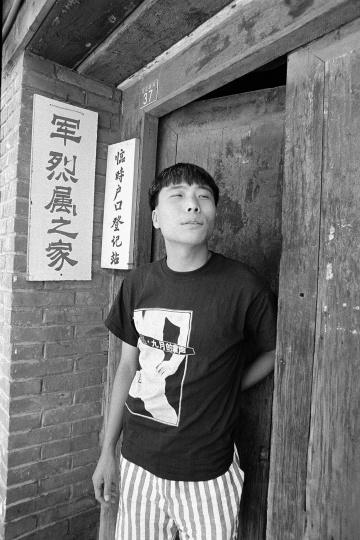 王友身,1993年9月,北京