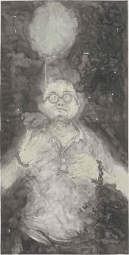 王煜 《关于老卤》 136x68cm 纸本水墨 2014