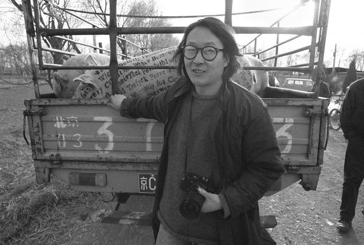 徐冰,1995年3月,北京