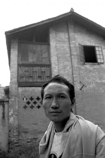 毛旭辉,1992年3月,成都