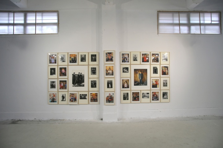 """大师展之一,奥古斯特·桑德与姜健""""时代的肖像""""是唯一展示艺术家原作的展览"""