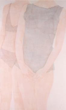 徐华翎《香》 158×99cm(约14平尺) 设色绢本2005