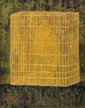 欧阳春 《王的囚笼》 布面油画 230×180cm2008