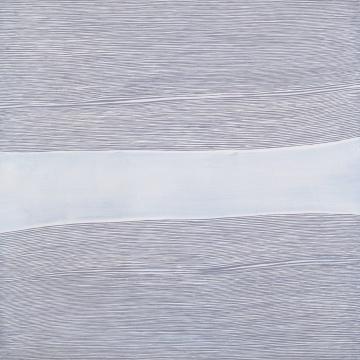 王光乐 《寿漆系列070810》 布面丙烯 114×116cm2007