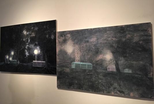 黄春风 《从晨到雾》系列 布面油画 2014