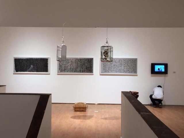 """何桂彦策划的""""日常之名——中国当代艺术中的日常话语与观念生成"""" 展览现场"""