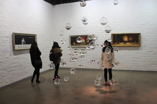 画廊的小展厅空间