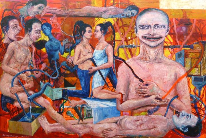 中心艺博会聚焦不同年龄不同价位艺术家作品