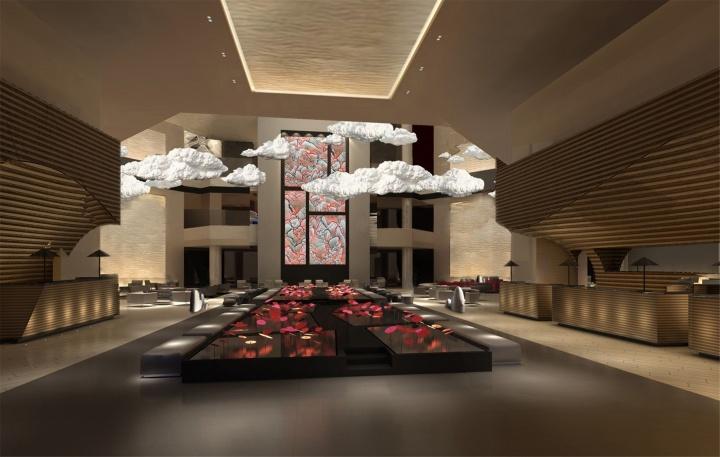万和昊美艺术酒店大堂