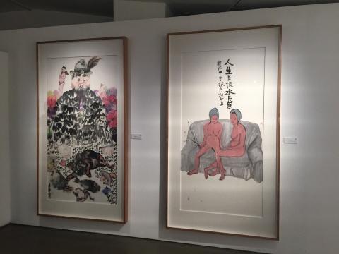 """""""男·女""""艺术家对当代水墨的独特视角在同一空间展示"""