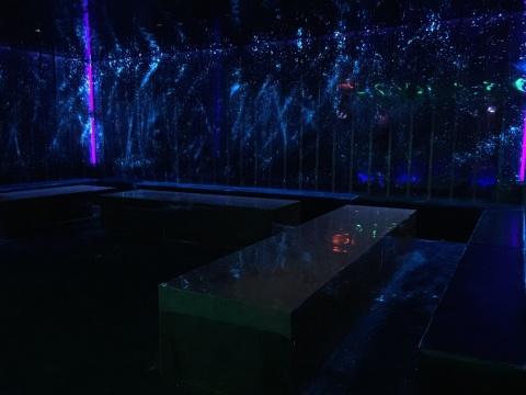陈维 《迷醉的舞池》局部