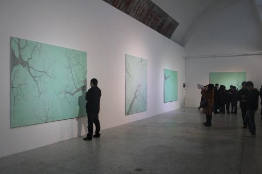 东京画廊展出现场